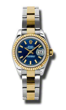 Rolex Datejust 26   Women's Watch 179173-BLIO