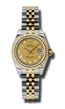 Rolex Datejust 26   Women's Watch 179173-CHGDMOPDJ