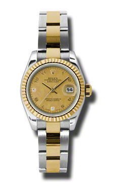 Rolex Datejust 26   Women's Watch 179173-CHGDMOPDO