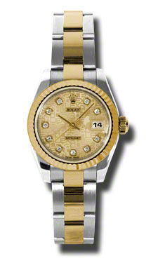Rolex Datejust 26   Women's Watch 179173-CHJDO
