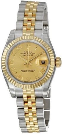 Rolex Datejust 26   Women's Watch 179173-CHRJ