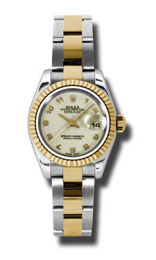 Rolex Datejust 26   Women's Watch 179173-IVAO