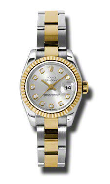 Rolex Datejust 26   Women's Watch 179173-SIDO