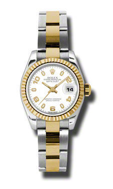 Rolex Datejust 26   Women's Watch 179173-WHAO