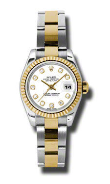 Rolex Datejust 26   Women's Watch 179173-WHDO