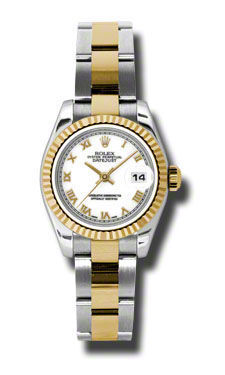 Rolex Datejust 26   Women's Watch 179173-WHRO