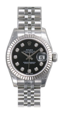 Rolex Datejust 26   Women's Watch 179174-BKDJ