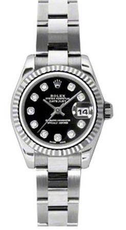 Rolex Datejust 26   Women's Watch 179174-BKDO