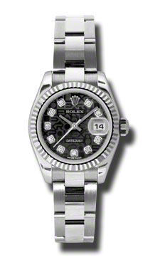 Rolex Datejust 26   Women's Watch 179174-BKJDO