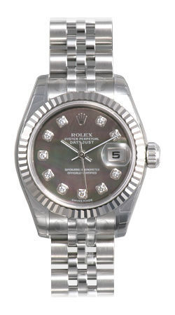 Rolex Datejust 26   Women's Watch 179174-BKMOPDJ