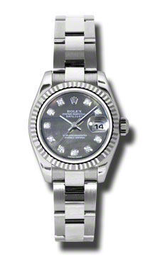 Rolex Datejust 26   Women's Watch 179174-BKMOPDO