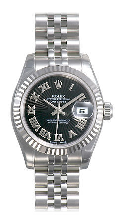 Rolex Datejust 26   Women's Watch 179174-BKSRJ