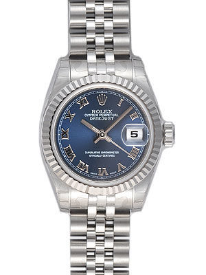 Rolex Datejust 26   Women's Watch 179174-BLRJ