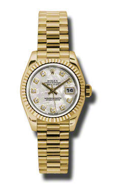 Rolex Datejust 26   Women's Watch 179178-MEDP