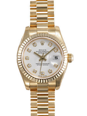 Rolex Datejust 26   Women's Watch 179178-WHDP