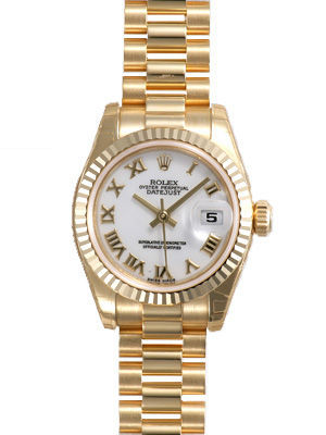 Rolex Datejust 26   Women's Watch 179178-WHRO