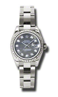 Rolex Datejust 26   Women's Watch 179179-BKMOPDO