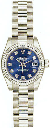 Rolex Datejust 26   Women's Watch 179179-BLDJ