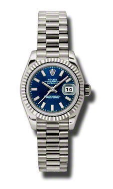 Rolex Datejust 26   Women's Watch 179179-BLSJ