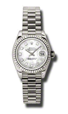 Rolex Datejust 26   Women's Watch 179179-MOPDP