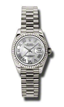Rolex Datejust 26   Women's Watch 179179-MOPRJ