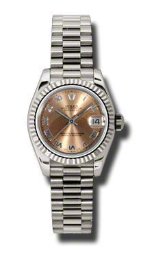 Rolex Datejust 26   Women's Watch 179179-PIRJ