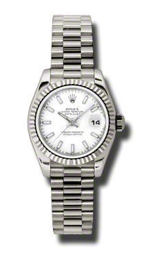 Rolex Datejust 26   Women's Watch 179179-WHSJ