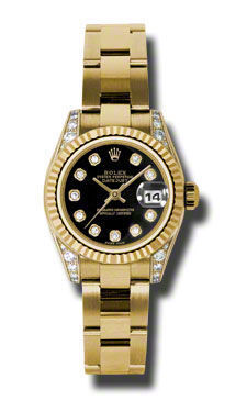 Rolex Datejust 26   Women's Watch 179238-BKDO
