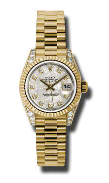 Rolex Datejust 26   Women's Watch 179238-MEDP