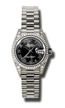 Rolex Datejust 26   Women's Watch 179239-BKRP