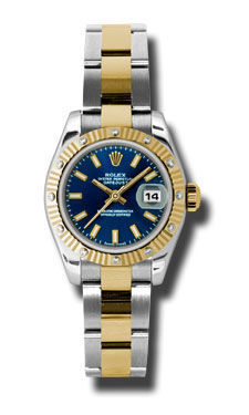 Rolex Datejust 26   Women's Watch 179313-BLSO