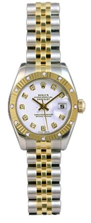 Rolex Datejust 26   Women's Watch 179313-WHDJ