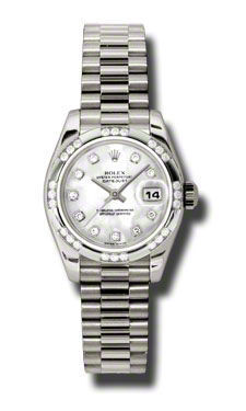 Rolex Datejust 26   Women's Watch 179369-MOPDP