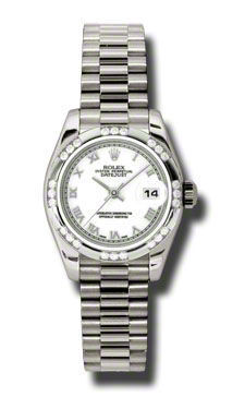 Rolex Datejust 26   Women's Watch 179369-WHRP