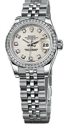 Rolex Datejust 26   Women's Watch 179384-IVSDJ