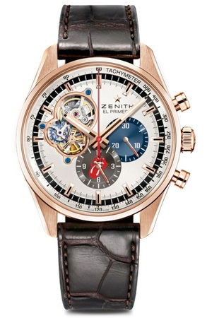 Zenith El Primero  1969 Tribute To Rolling Stones Men's Watch 18.2041.4061/77.C494