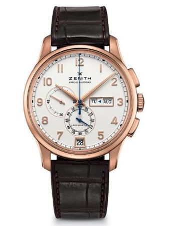 Zenith El Primero  Annual Calendar Rose Gold Men's Watch 18.2071.4054/01.C711