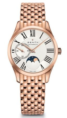 Zenith Heritage Lady Ultra Thin Moon Phase Rose Gold Women's Watch 18.2310.692/02.M2310