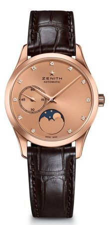 Zenith Captain Ultra Thin Moonphase  Women's Watch 18.2310.692/95.C498