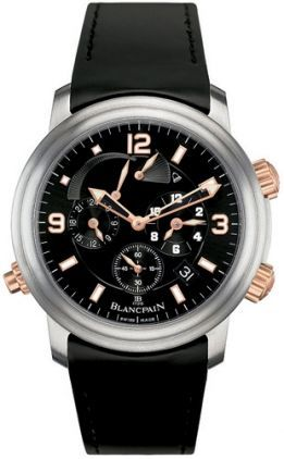 Blancpain Leman Reveil GMT  Men's Watch 2041-12A30-64B