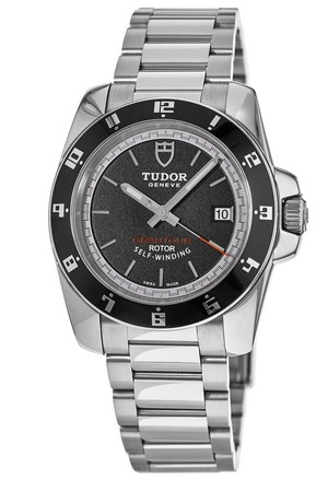 Tudor Grantour  Black Dial Stainless Steel Men's Watch 20500N-BKSSS-SD