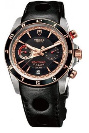 Tudor Grantour   Men's Watch 20551N-LTHR/BLK