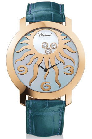 Chopard Happy Diamonds   Women's Watch 207469-5001-blue