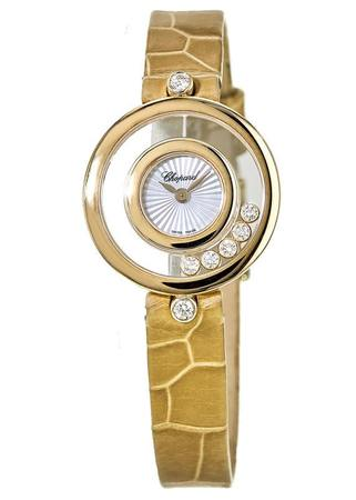 Chopard Happy Diamonds  Yellow Gold Women's Watch 209415-0001