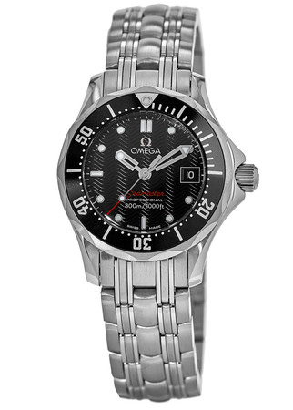 Omega Seamaster Diver 300 M James Bond Black Dial Steel Women's Watch 212.30.28.61.01.001