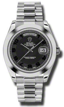 Rolex Day Date II   Men's Watch 218206-BKCAPR