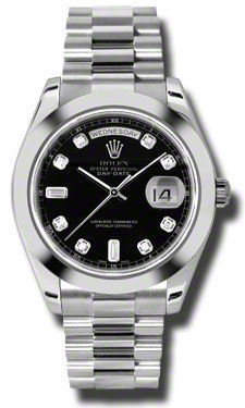 Rolex Day Date II   Men's Watch 218206-BKDPR