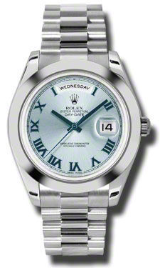 Rolex Day Date II   Men's Watch 218206-IBLRPR