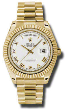 Rolex Day Date II   Men's Watch 218238-WHRPR