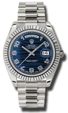 Rolex Day Date II   Men's Watch 218239-BLAPR